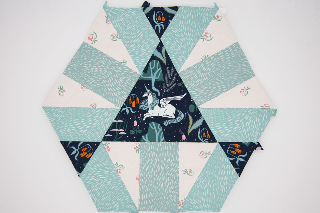 Fussy Cutting & English Paper Piecing!